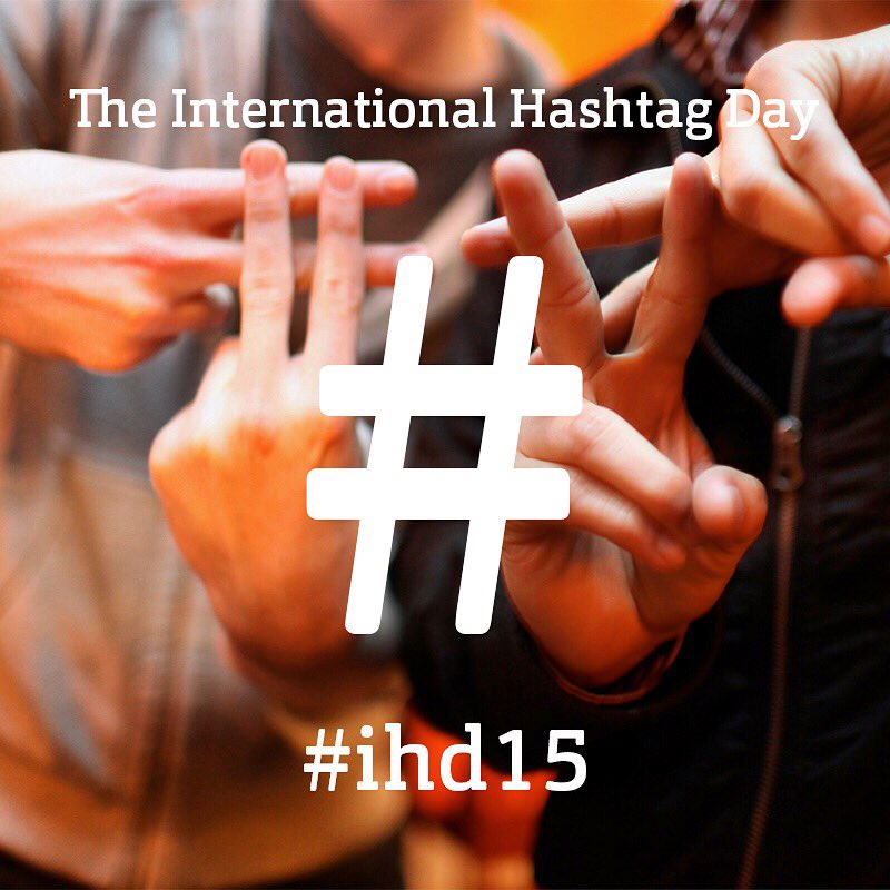 Welcome to the #internationalhashtagday 11.11. #ihd15 spread the word about this #pleaseRT https://t.co/CjyBjmLzNo