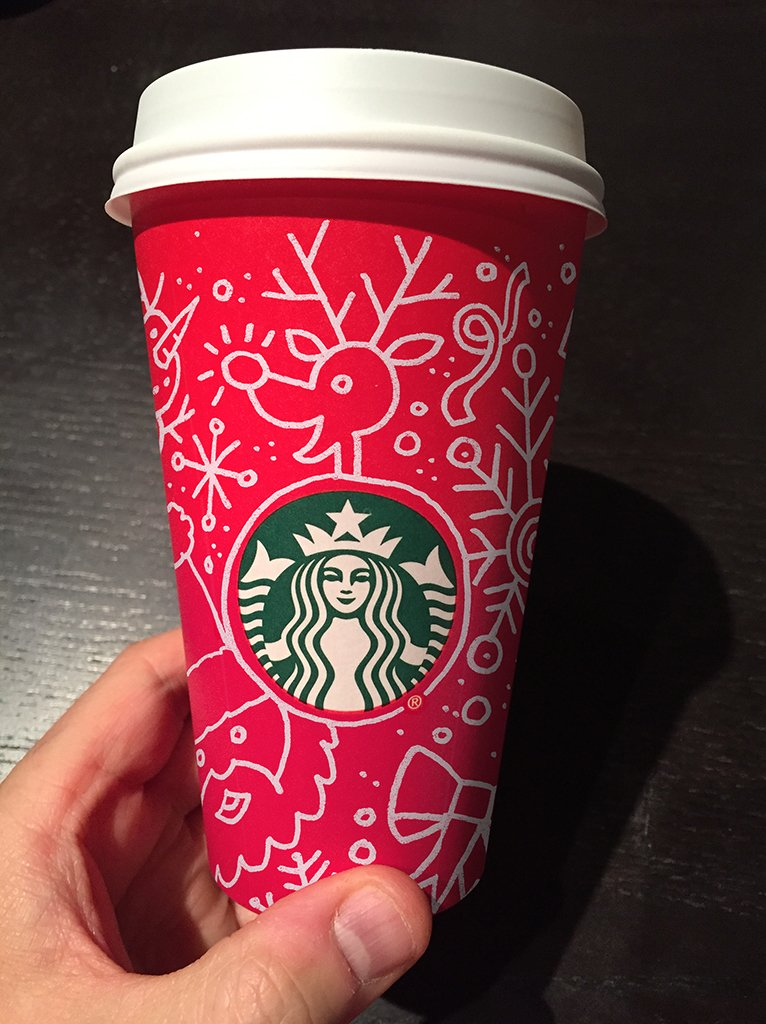 If the @Starbucks cup isn't festive enough for you, then draw it yourself. #DontSeeRed #DrawingConclusions https://t.co/ptN4TAtU0f