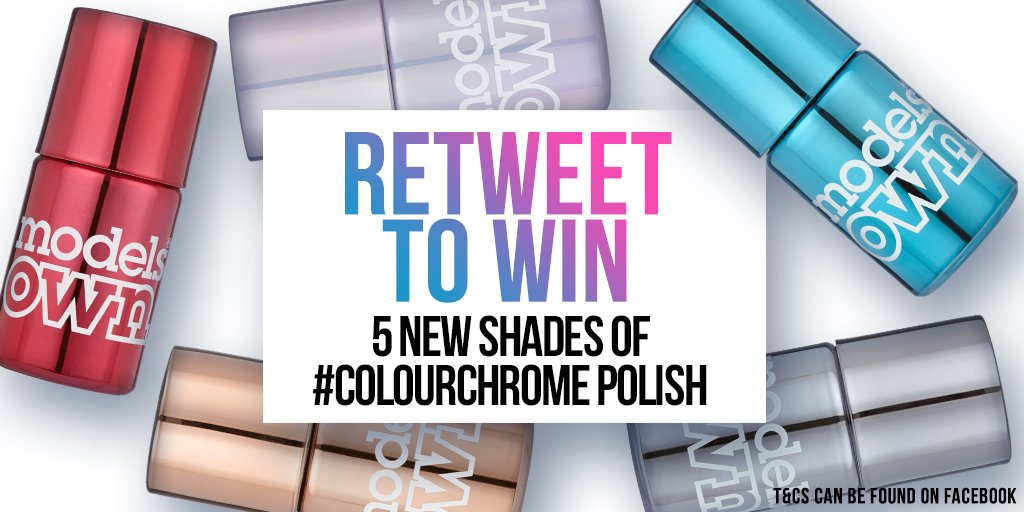 For #winitwednesday we're giving away 9 sets of our #ChromeCollection! Improve your chances by heading to FB & Insta https://t.co/1KfNkIGSmj