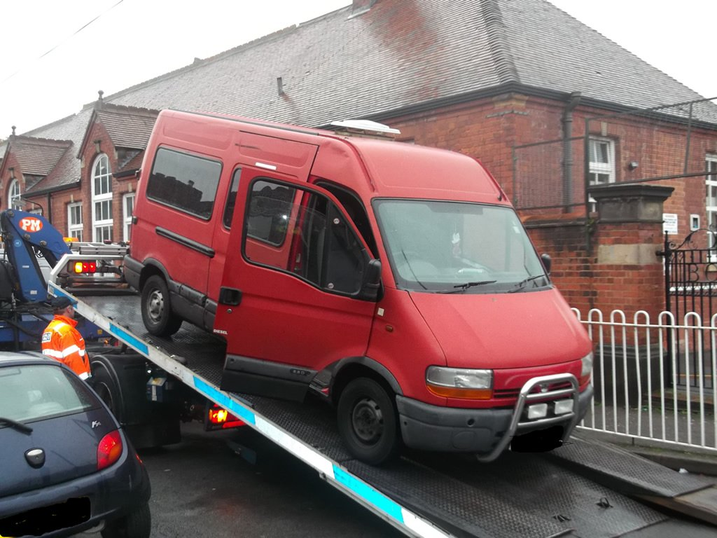 Vehicle seized as part of @AbbeySNT operation to deal with #ChildSafety concerns. https://t.co/tX2uykKUGJ https://t.co/e4sx3hIwyB