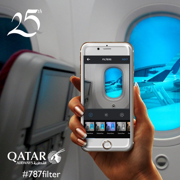 We want to see your creative eye with 787Filter. Learn more at