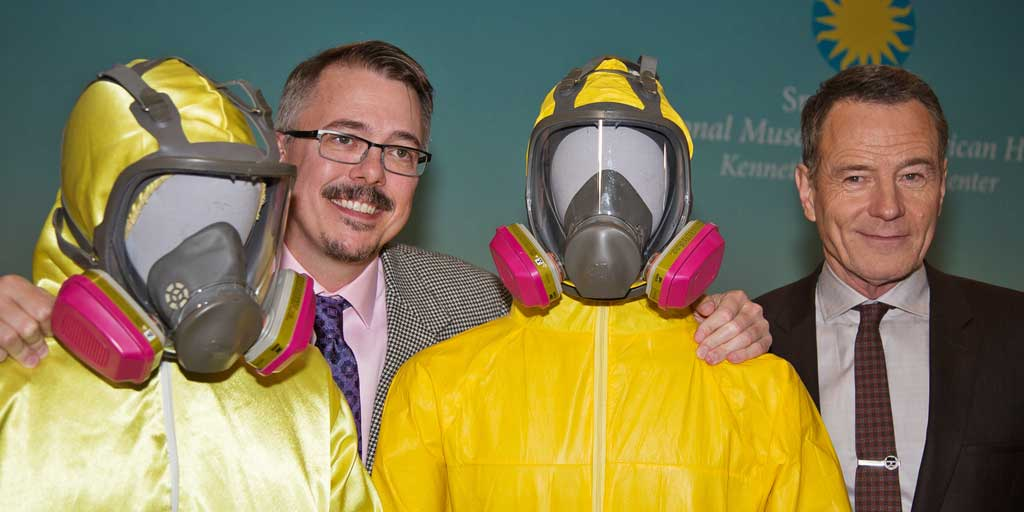 "Walter White Is Alive! ""Breaking Bad"" Props Donated to @Smithsonian's @amhistorymuseum"