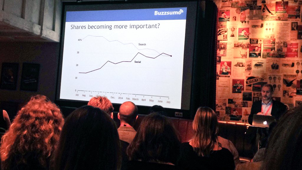 "Social sharing more important than search ""nobody cares about your homepage"" #SMLondon https://t.co/Yz8lkXulhm"