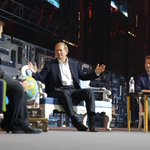 Our @rsiilasmaa (right) and Marcus Wallenberg of SEB in a fireside chat at #Slush15 https://t.co/f0WTmOMK5f