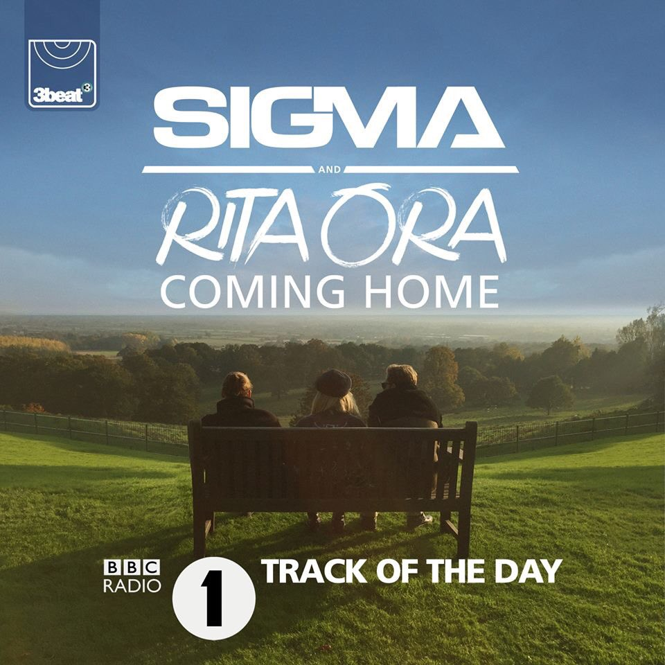 RT @sigmahq: #ComingHome our new single with @RitaOra is @BBCR1 Track of the Day!! Listen out for it ???? https://t.co/jRBTkOKZTG https://t.co…