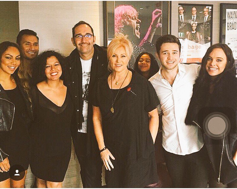 Got 2share the stage w great friends 2day for an amazing cause #IFCO2015 @Deborra_lee @reecemastin @BonnieAnderson_ https://t.co/eI3qJm74MI