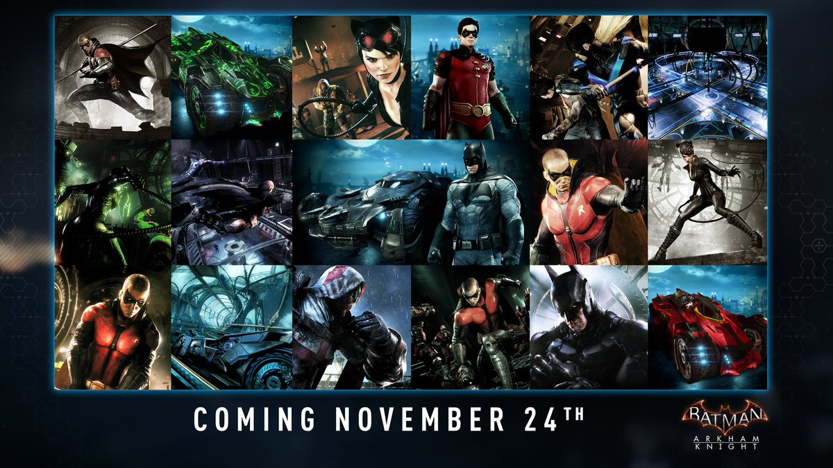 The November Season Pass Update is coming on 24 Nov. Here's what to expect... https://t.co/hB8qi5U954
