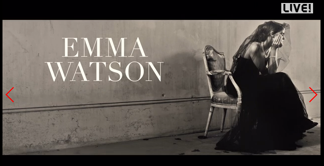 .@EmWatson by #VincentPeters Fotogallery e video di #backstage https://t.co/FgVsVyldTQ https://t.co/PUP3q9JafM