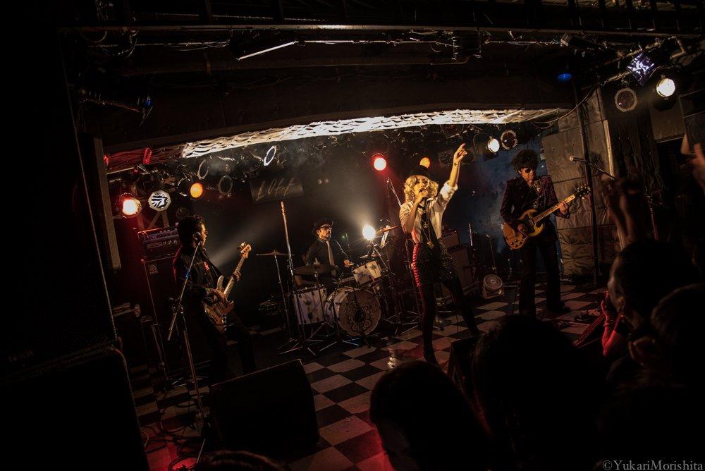 中島美嘉さん 15th ANNIVERSARY at 新宿LOFT 土屋公平さん&池畑さん。目撃