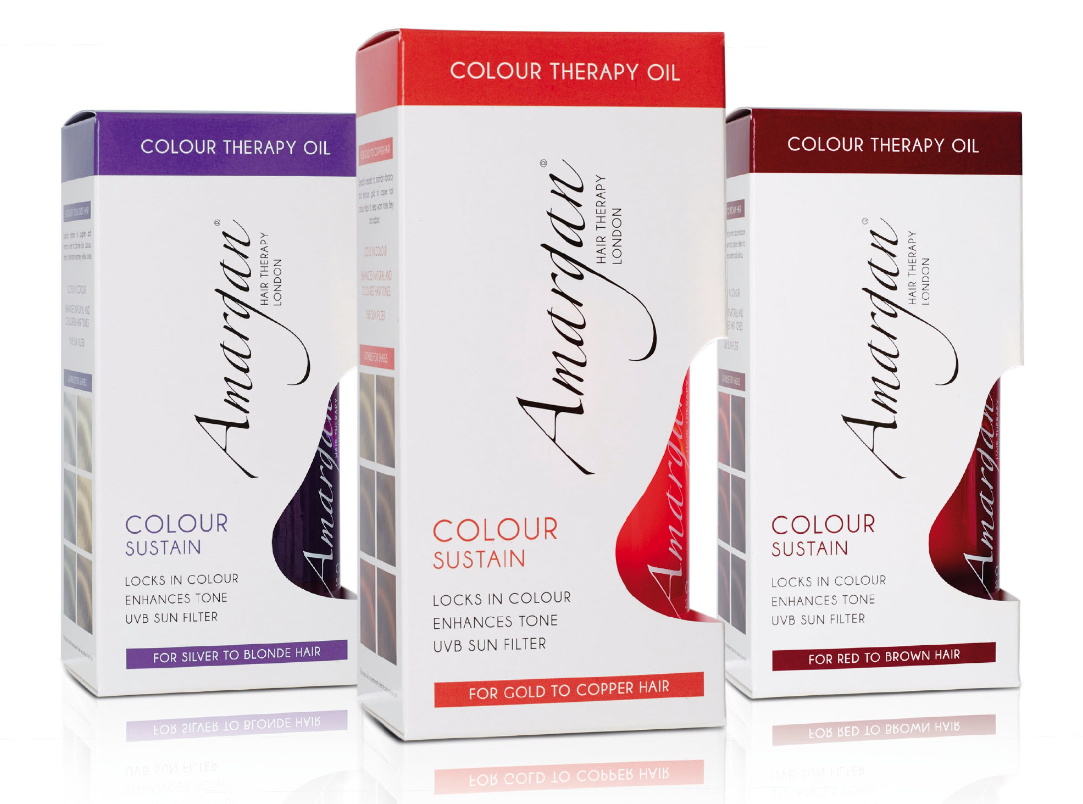 Colour therapy for beauty - Amargan Hair Therapy Launches New Colour Therapy Oils Https T Co