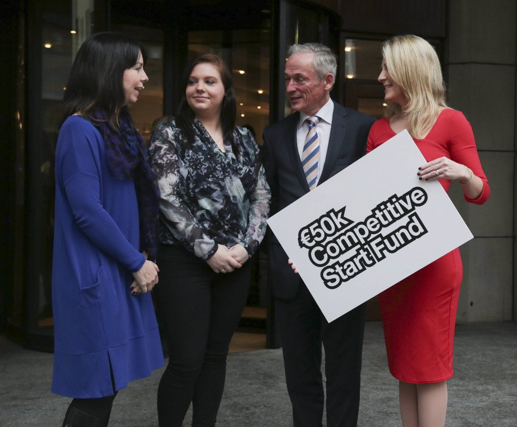 €500,000 Competitive Start Fund to support female entrepreneurs launched today @RichardbrutonTD #Entirl #client https://t.co/MY3yAihNQu