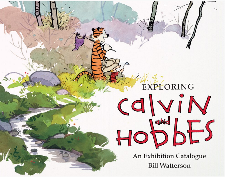 "#CalvinAndHobbes Anniversary Giveaway: RT&FOLLOW for a chance to win ""Exploring @CalvinAndHobbes""—ends 11/12 @ 10aC. https://t.co/MYxedu5OyN"