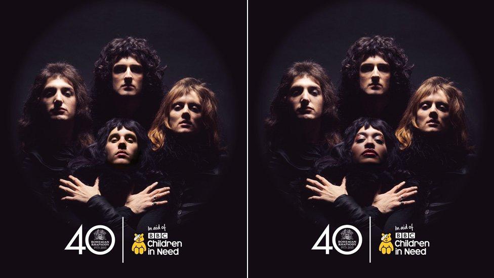 RT @BBCNewsEnts: .@justinbieber and @RitaOra among stars doing the Bohemian Rhapsody pose for @BBCCiN https://t.co/Mctx8TSTjZ https://t.co/…