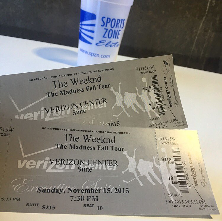ENTER to WIN a FREE PAIR of Box Seat Tickets to see @TheWeeknd Sunday at the Verizon Center simply by a RT!! https://t.co/6JfdaOjlFF