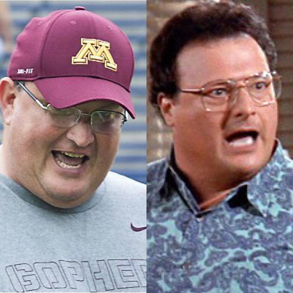 A #Badgers friend asked if Claeys would still be receiving royalty checks from his work on Seinfeld ;). #Gophers https://t.co/ttkRKY6XqM