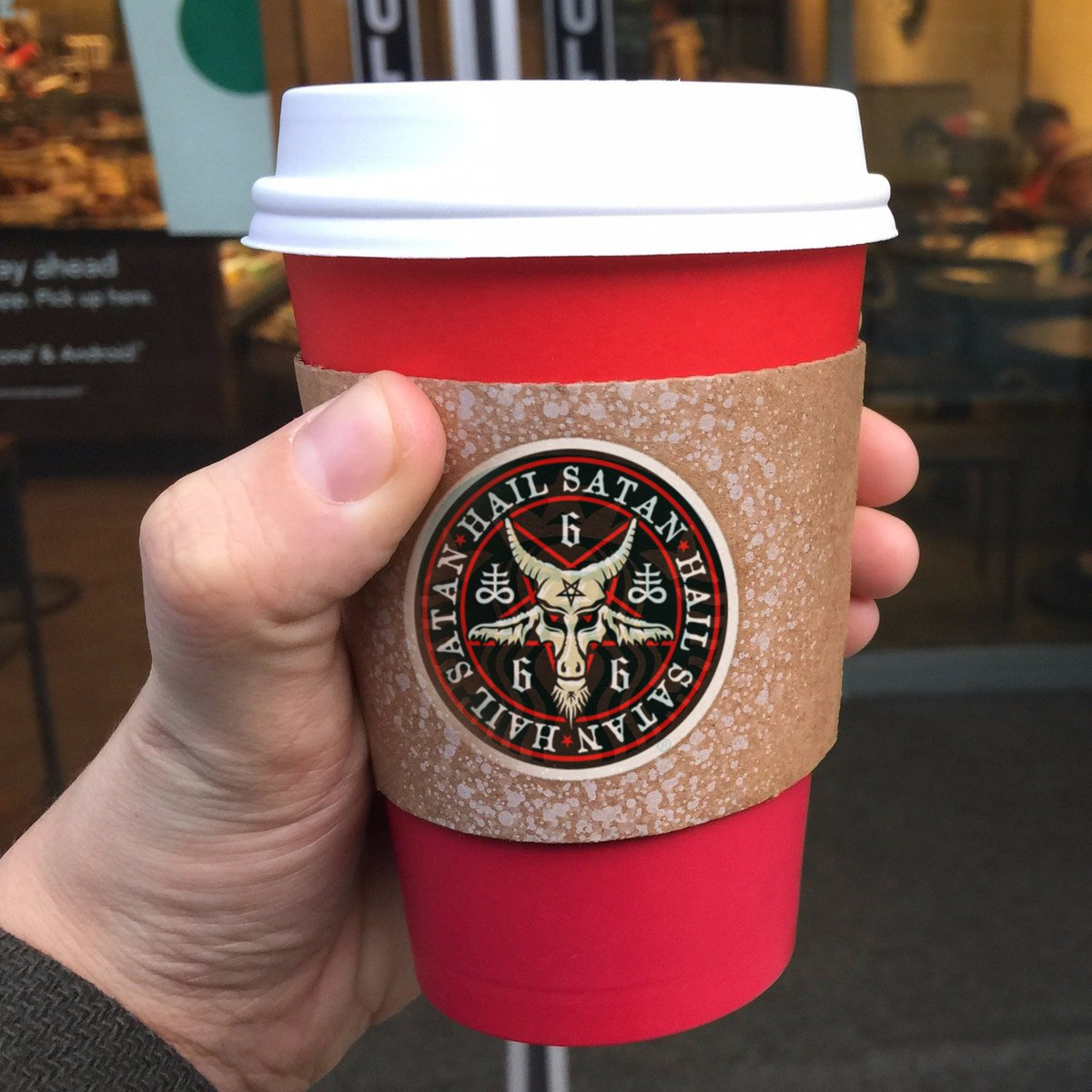 Okay, Starbucks, NOW you've gone too far. https://t.co/bYOVgxo91f
