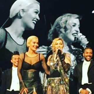 @RitaOra is our Surprise UnapologeticBitch!!! What a ???????? night! In Berlin! ❤️ #rebelhearttour https://t.co/WPFtMkM5uR