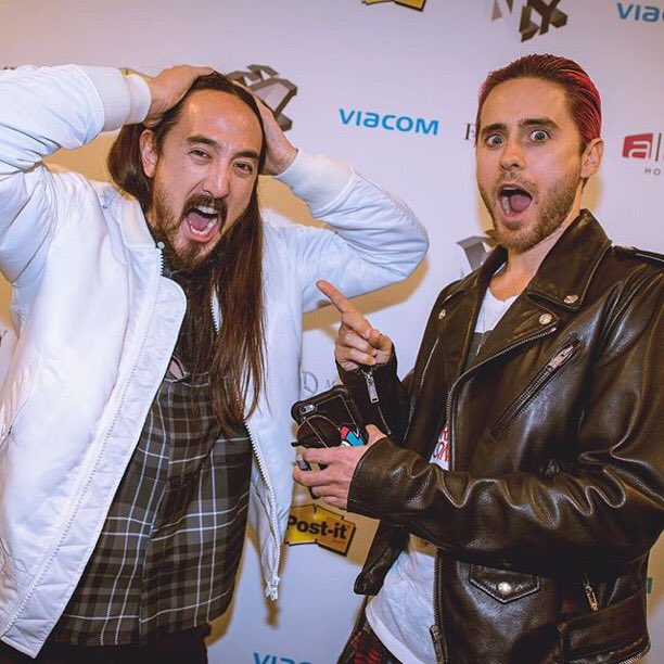 RT @steveaoki: Who's the real Joker? @jaredleto #suicidesquad https://t.co/xsMTpjqPiE