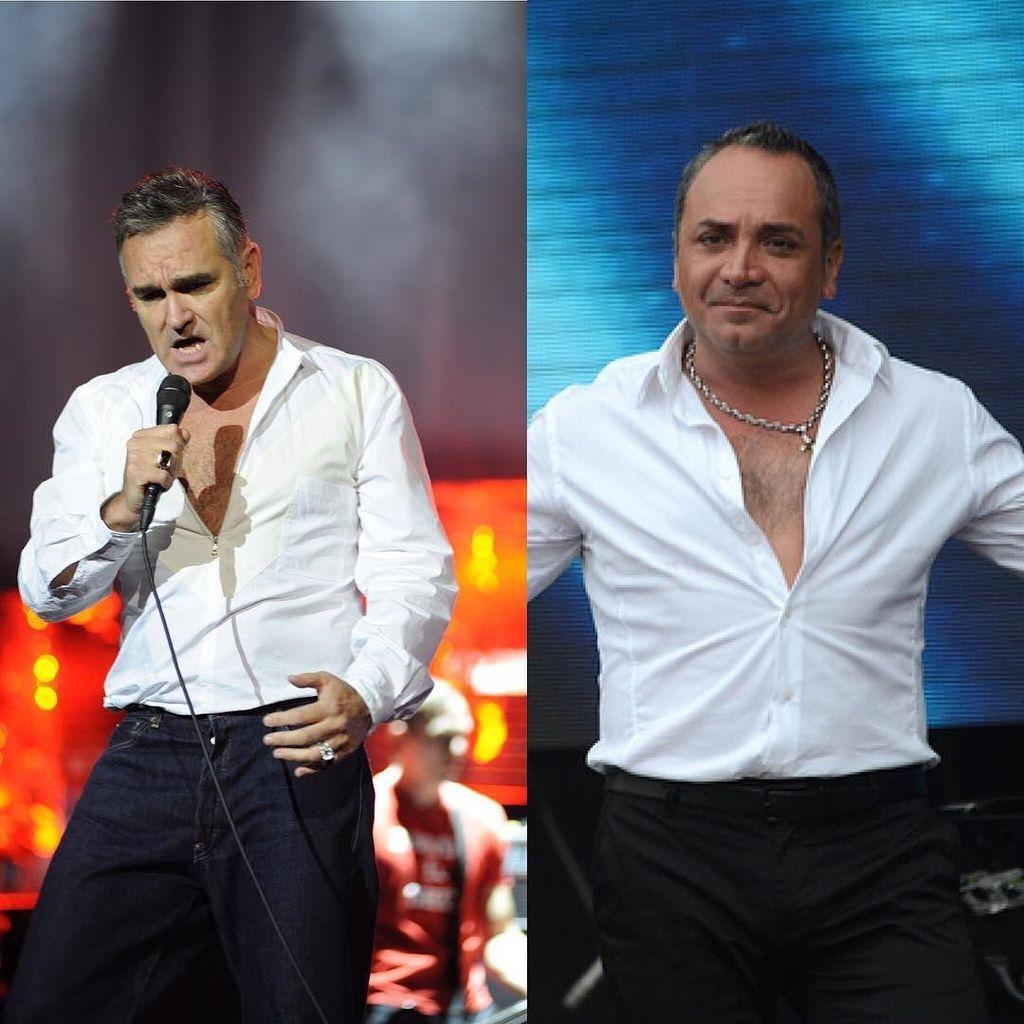 Morrissey siempre copiándole el estilo a Lucho Jara https://t.co/3uyHGw9REX https://t.co/jvVuXwIicr