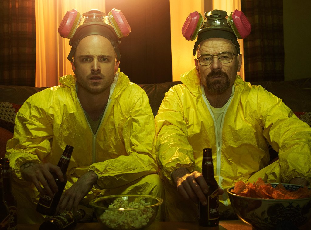 Breaking Bad's meth suits are making it to the Smithsonian and Aaron Paul's excited, b--ch: