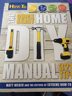 Extreme How-To's first DIY Manual!! Available soon at Lowe's, bookstores and hardware stores across the nation. #diy https://t.co/S4K6IvBLaW