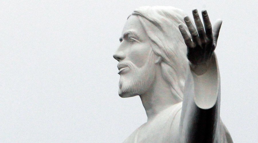'Stressed' French priest smashes Jesus statue shouting 'one less!'