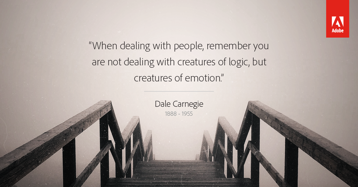What Dale Carnegie can teach us about creating a great customer experience https://t.co/yc2sfSmVsE #DesignAdvantage https://t.co/Cn9QI1UsCP
