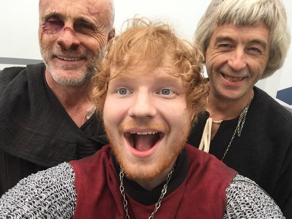 RT @TimVMurphy: Hanging out with Trevor and Ed on the set of The Bastard Executioner @edsheeran @TheBastardEx https://t.co/QugP39MA1T
