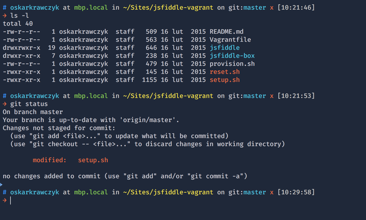 Fancy a new theme and colors for @ohmyzsh and iTerm? Meet Honukai.  https://t.co/s0iGiRQu05 https://t.co/ySPxe03Us1