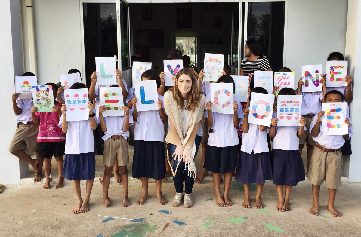 What an honor to be welcomed by these amazing children in Thailand, who have been rescued by @A21 #StrongerTogether https://t.co/lf1MTuWF7g