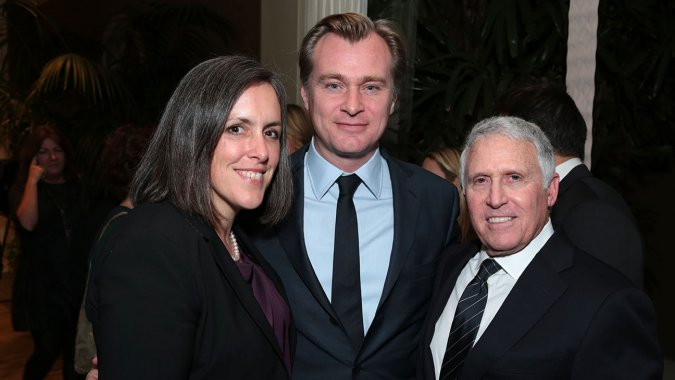 Christopher Nolan, Clint Eastwood Fete Warners Bros.' Dan Fellman at Retirement Bash
