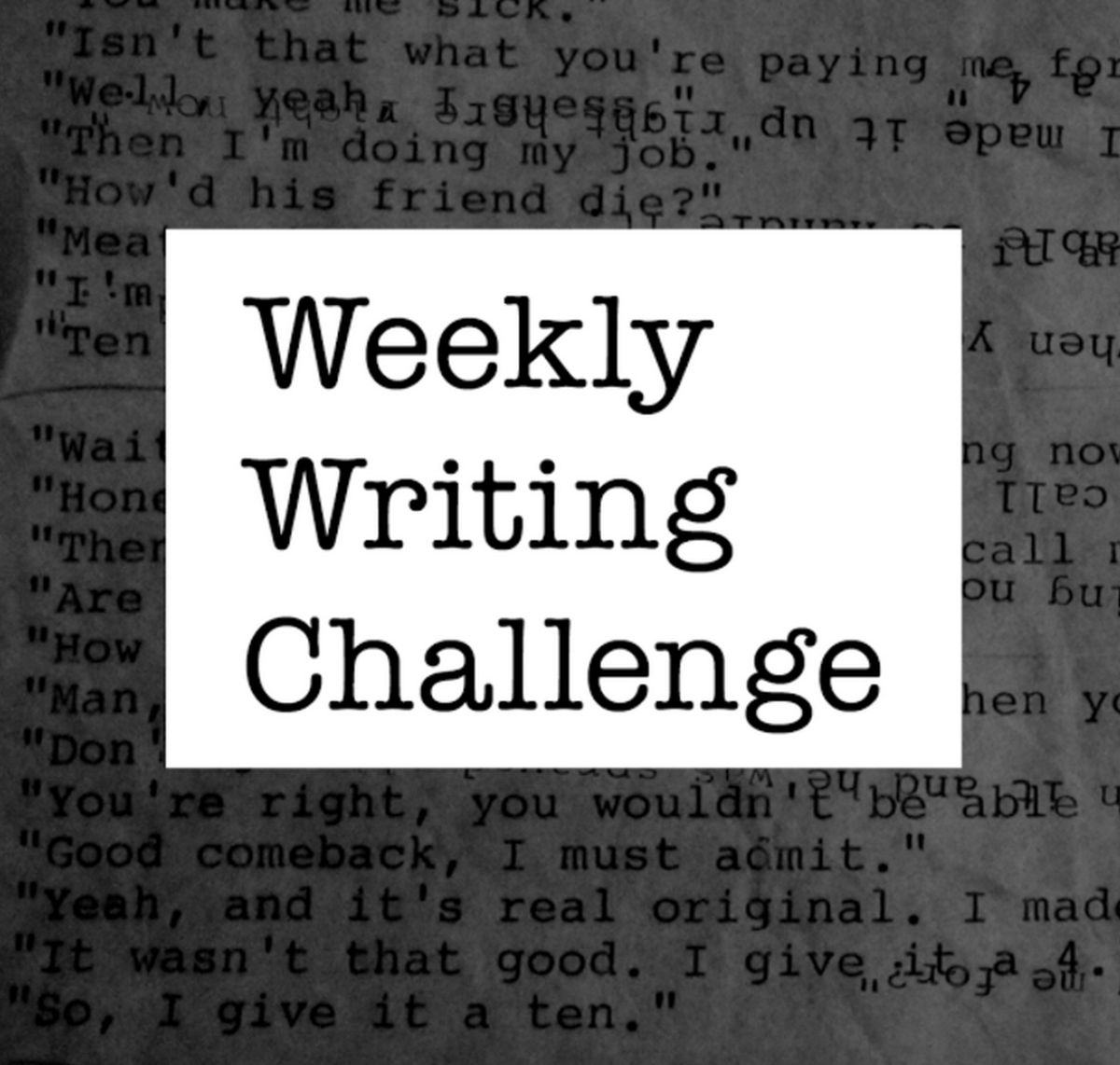 RT @hitRECord  A new writing challenge has been issued -- post your stories here: https://t.co/qv8TZ485K8 https://t.co/lgbNevlZlj