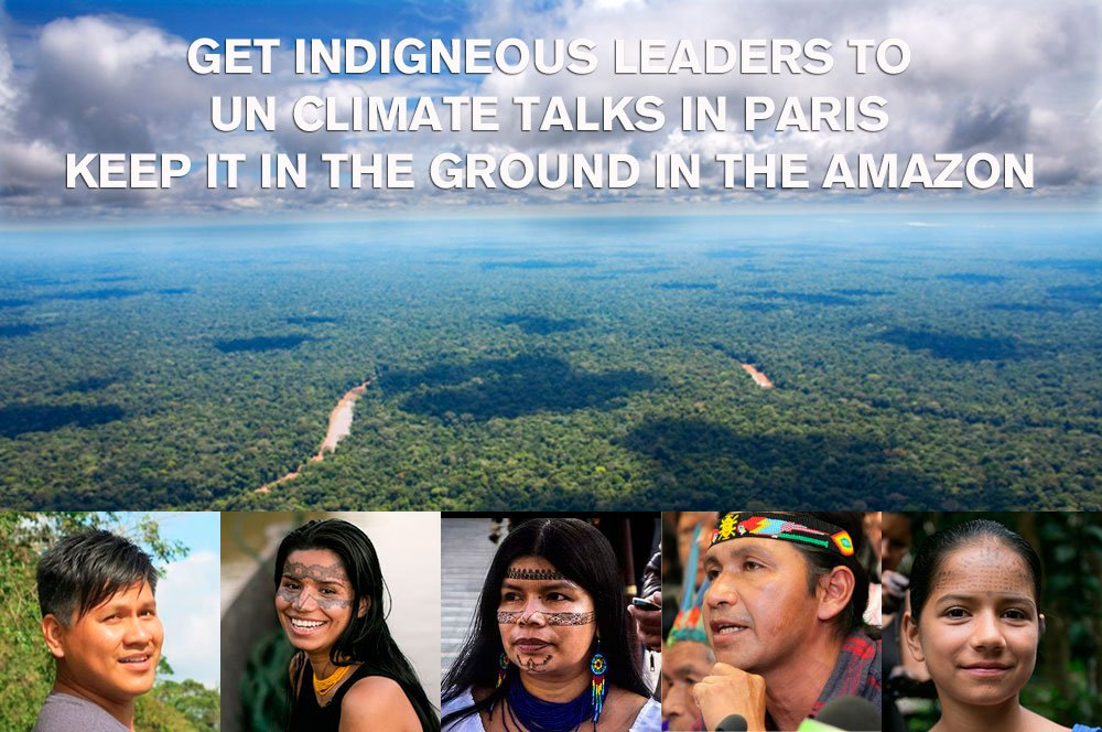 We MUST keep the oil in the ground to avert climate chaos, starting in the Amazon. Act NOW: https://t.co/GPa9L2OxP4 https://t.co/8kY2CuNRG4