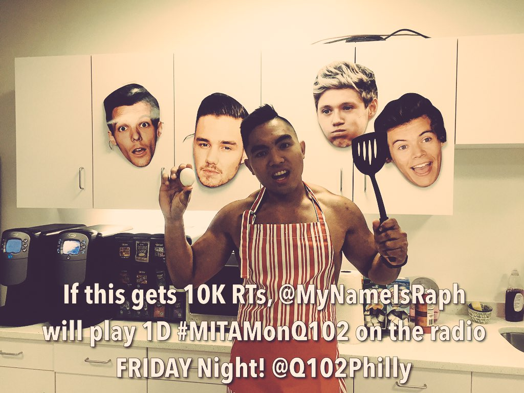 My boss is gonna kill me! I need the power of #Directioners around the world! Help me out! #MITAMonQ102 #MadeInTheAM https://t.co/JApextL09P