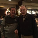 With Ed Allin, who played for Coach Rupp in the 1940s. Wow!!! https://t.co/EhLkCxZrqX