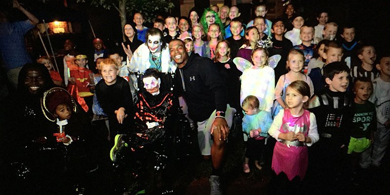 Terminally ill 10 year old who spent a surprise Halloween with @CameronNewton has died