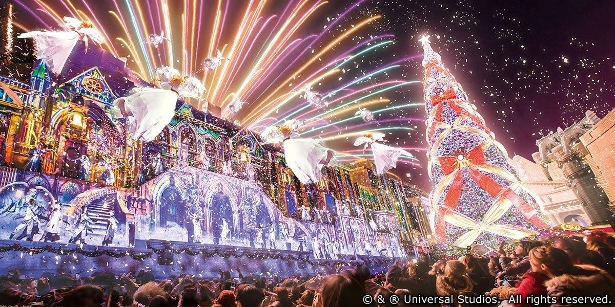 【フォロー&この投稿をRTで応募】あの伝説のショーが一新!空中に天使舞う、かつてない感動空間。【ユニバーサル・ワンダー・クリスマス #今年のプレゼントは奇跡です 】開催中 https://t.co/sfSBhZGFhw #USJ https://t.co/Xwq7SRXA5t