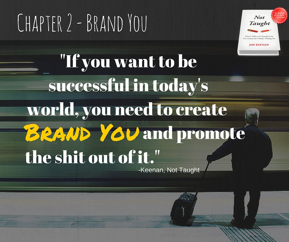 You have to have a brand you that inspires and draws people to you. The 21st century demands it. https://t.co/ytyn2fa9Zc
