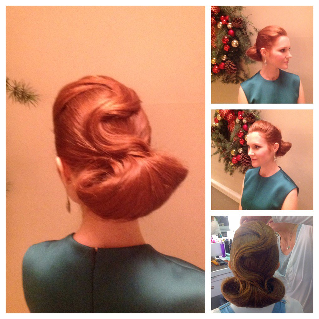 Ok @ladiegladiator here is the back of #classysassyabby #updo @darbysofficial @ScandalABC @GinaMilano_Mup https://t.co/of0fi73NEl