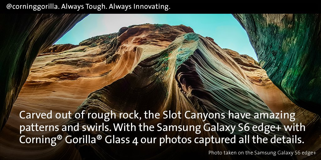 Every RT is CHANCE 2 enter #GorillaGlass4 #sweeps & win #GalaxyS6edgePlus! https://t.co/rXy7eFad0g https://t.co/fVXNaJw6z3