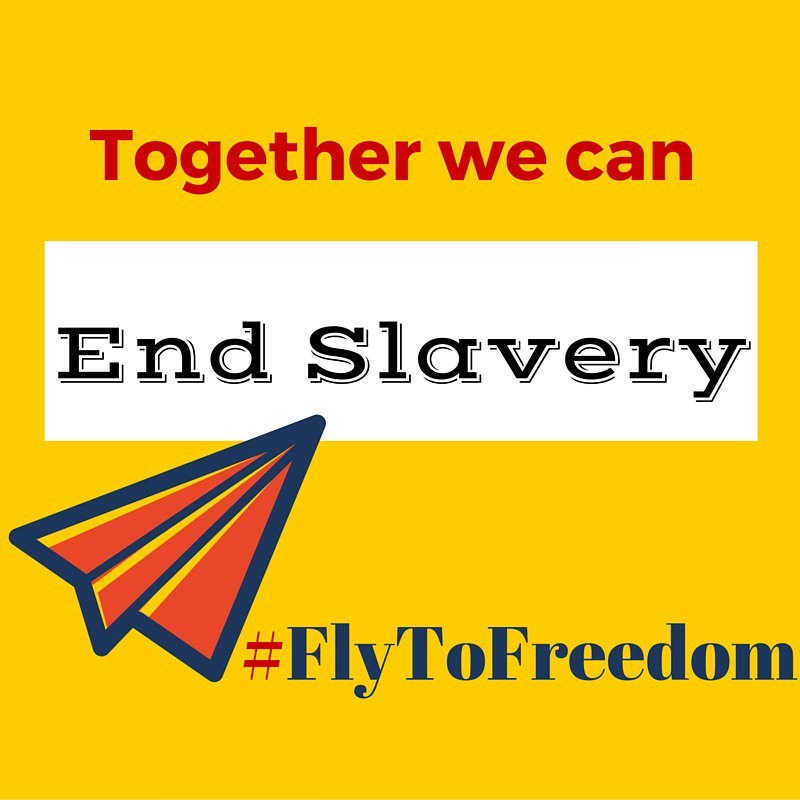 Slavery still exists. How can you help end it?  Learn: https://t.co/irWF7bQWRz  #FlyToFreedom #bringbackourgirlsdc https://t.co/jxgT7Y38hB