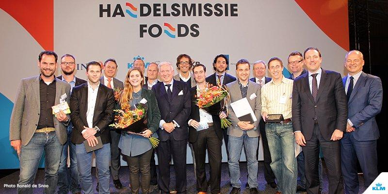 KLM feliciteert alle winnaars van het Oranje Handelsmissiefonds! Meer informatie op