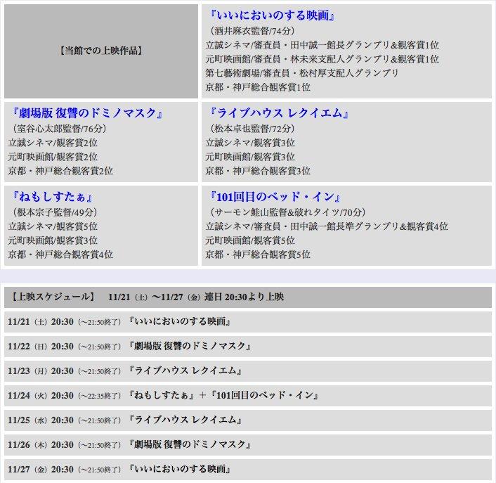"""「MOOSIC LAB 2015」""""京阪神サバイバル ウイニングラン""""上映作品・スケジュールが決定いたしました!11/21(土)より1週間限定上映です!詳細 https://t.co/znqdnwSIfJ https://t.co/9syoU1U7Fo"""