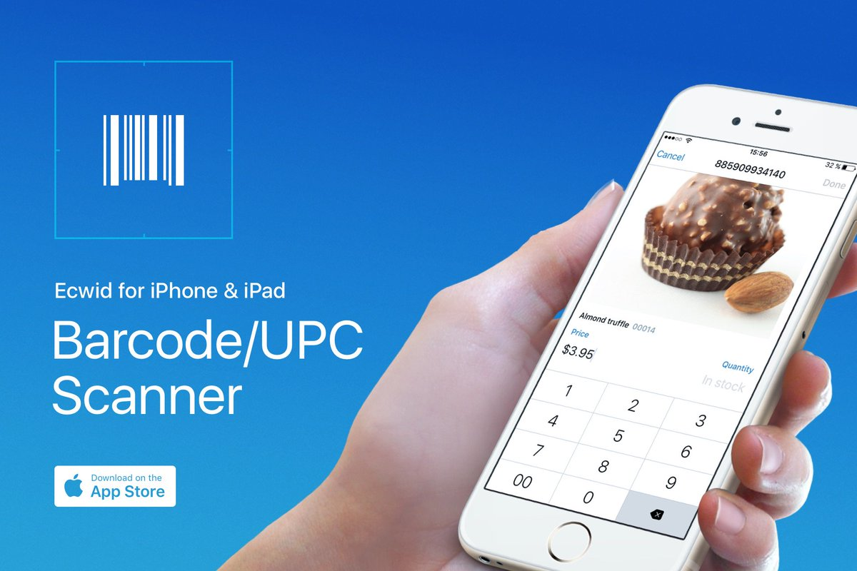 Meet new Ecwid for IOS! Manage products by Barcode and protect your store with Touch ID: https://t.co/utBPaQYTke https://t.co/qgVl4b155Z