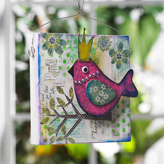 Tweet, tweet! Check out our new #mixedmedia line from FolkArt! https://t.co/EoIVl9nvmx https://t.co/fZumRzKJd8