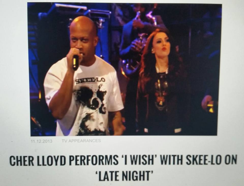 SKEE LO PERFORMING I WISH ON FALLON W/ CHER LLOYD & THE ROOTS #Taping 11-11-13 @Skeelo_MusiK https://t.co/ryvblKW9GW https://t.co/QPDz8h8Gea
