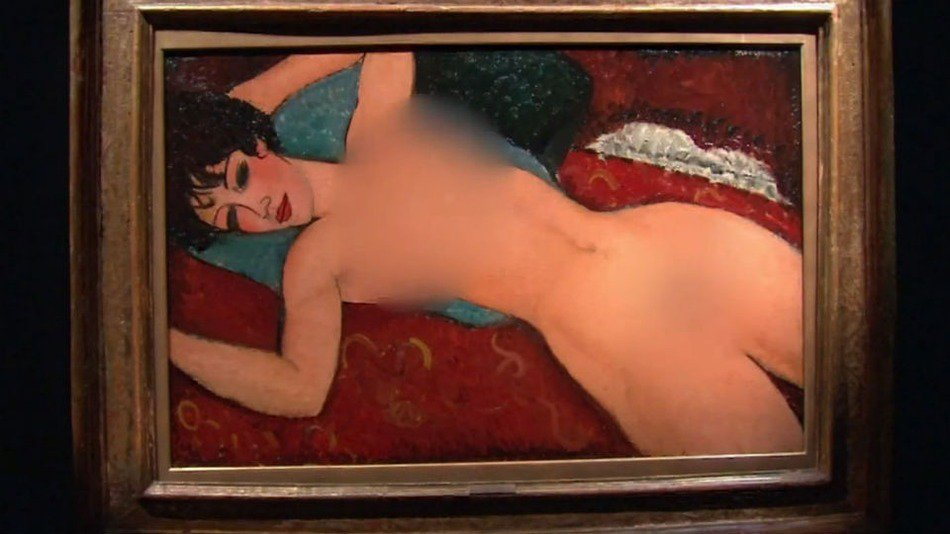 Medios de EE.UU. censuran una obra de Modigliani. Siempre se puede ser más ridículo https://t.co/nvsuKf2bqw https://t.co/t9tNtVIGJg
