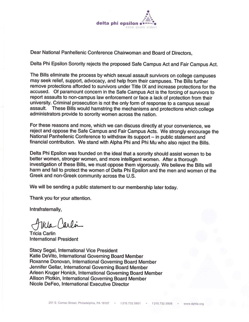 Sisters we have heard your voices and have fast tracked our response on this legislation to NPC. https://t.co/QZpGAAbDgR