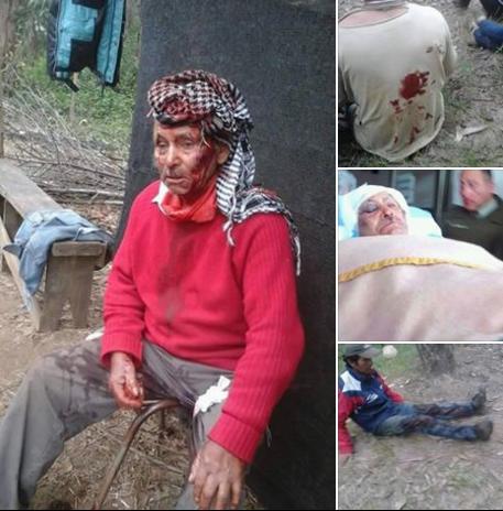 ¿Qué sentirán los del #GOPE cuando disparan contra un anciano mapuche? ¿Y el ministro @jburgosv? #LonkoAntipan https://t.co/svZ5hgcOAz