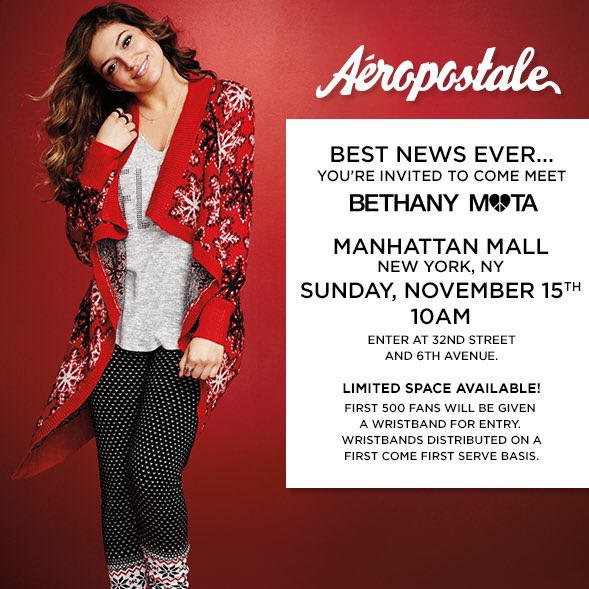 Meet me aeropostale manhattan mall 10am on 1115 and see my new meet me aeropostale manhattan mall 10am on 1115 and see my new christmas m4hsunfo